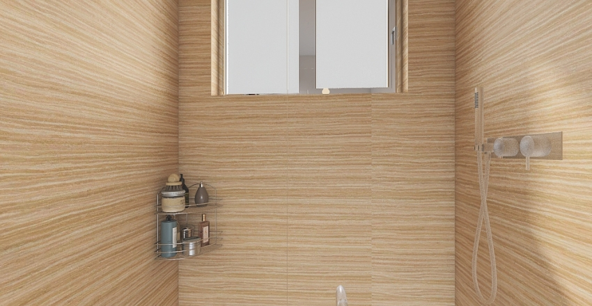 Banheiro pequeno/Small bathroom Interior Design Render
