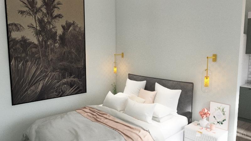 559 Apartment Interior Design Render