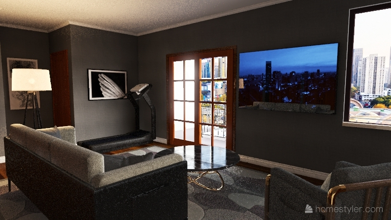 Jack Crowley Condo Design Interior Design Render