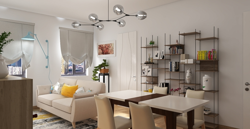 Cristiana Interior Design Render