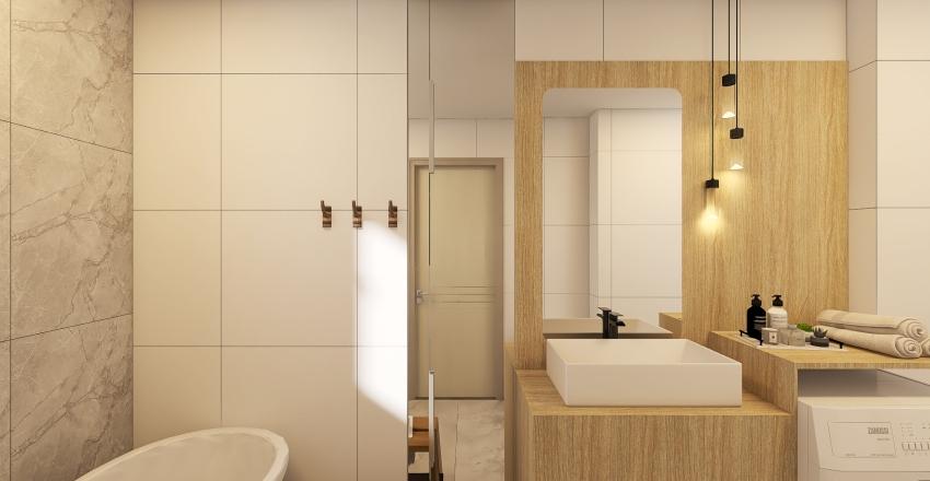 New York Apartment Interior Design Render