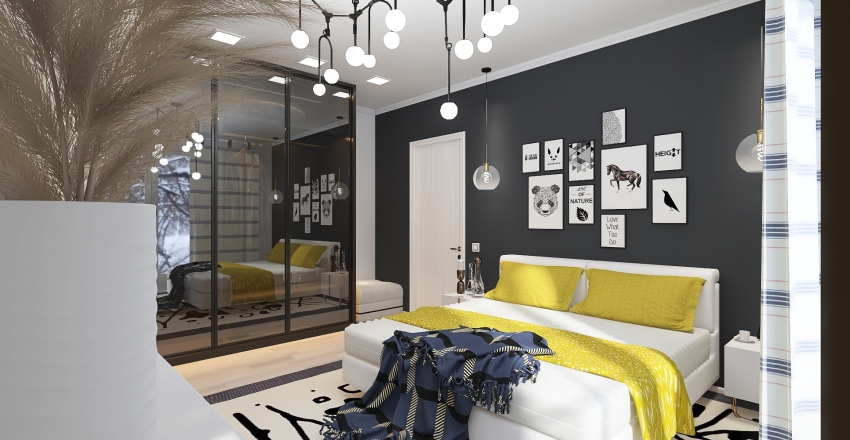 образец Interior Design Render