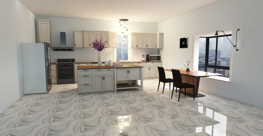 25 Yr old costal Interior Design Render