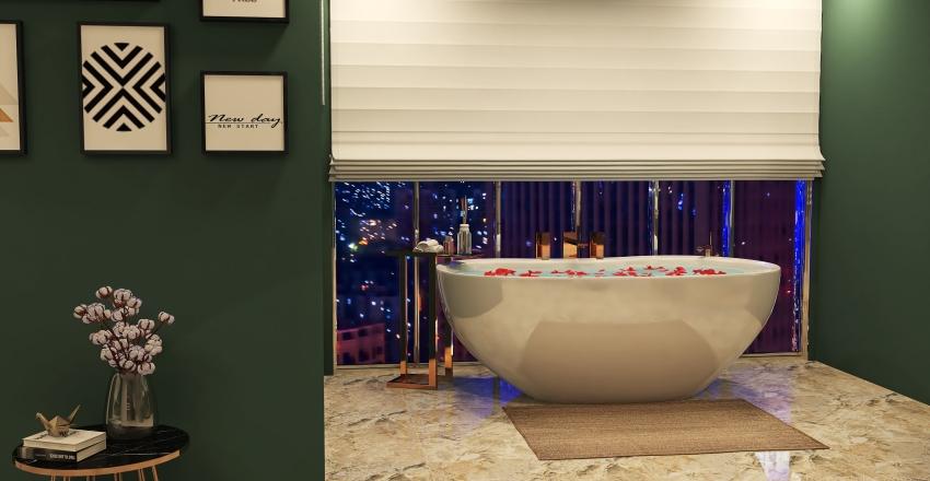 HABITACIÓN DE HOTEL (BÁSICA) Interior Design Render