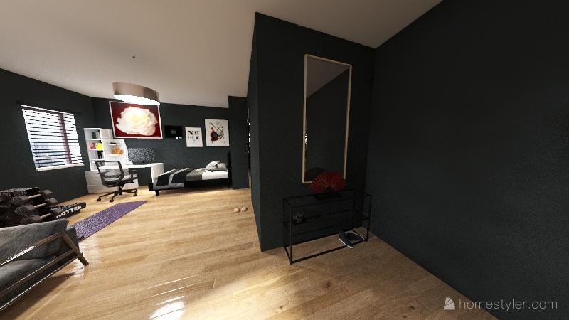 Ultimate hangout Interior Design Render