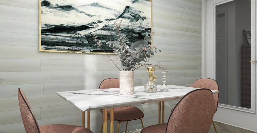 Elegant small place Interior Design Render