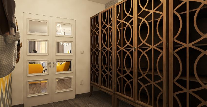 Condominio S_Appartamento 100 mq Interior Design Render
