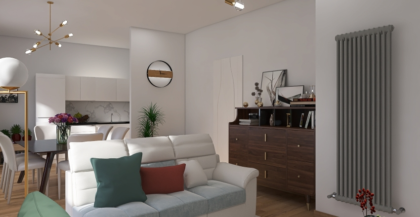 CARBONIN_HOUSE Interior Design Render
