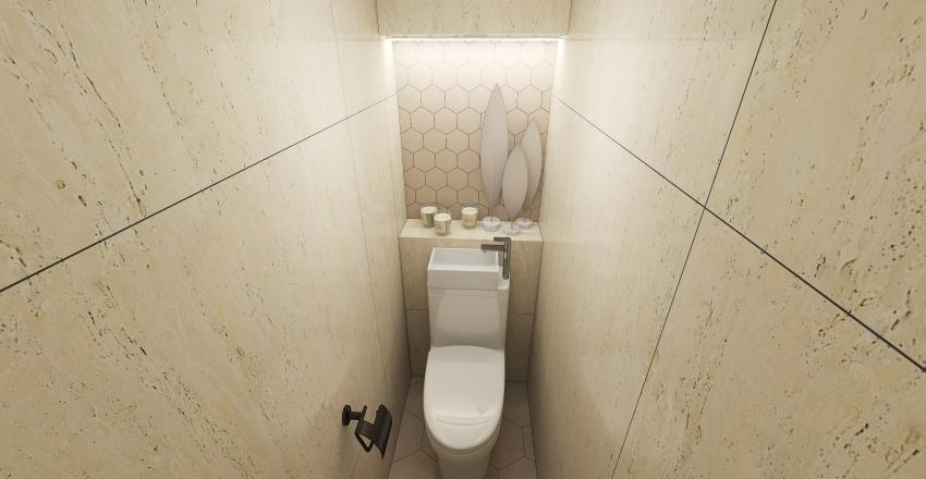 ванна Сухонка Interior Design Render