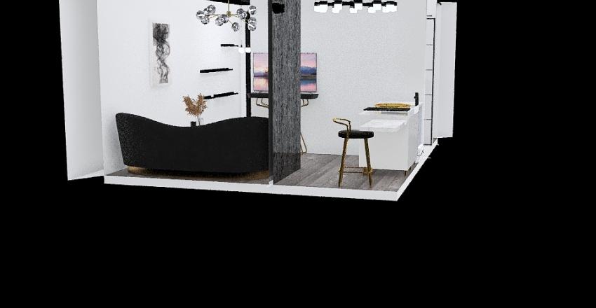 ana prvi sprat Interior Design Render