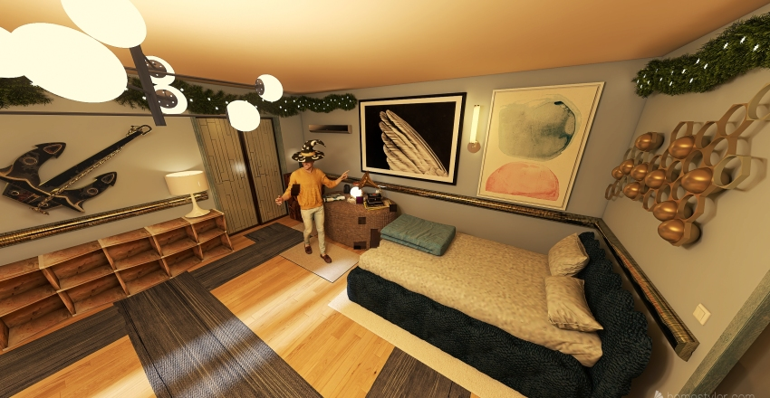 Copy of epic blind room Interior Design Render