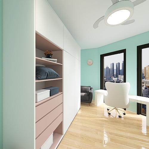 REDONDEL2 Interior Design Render