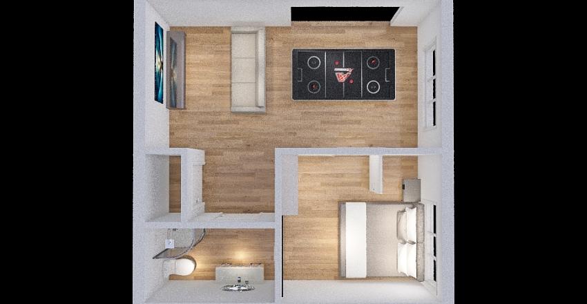 back Interior Design Render