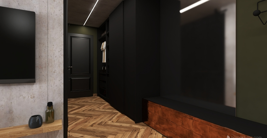 THE STUDENT'S PLACE Interior Design Render