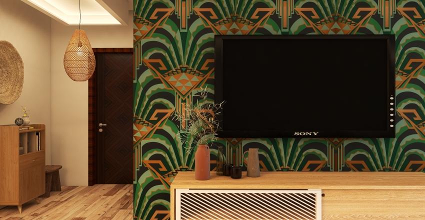 #boho_style Interior Design Render