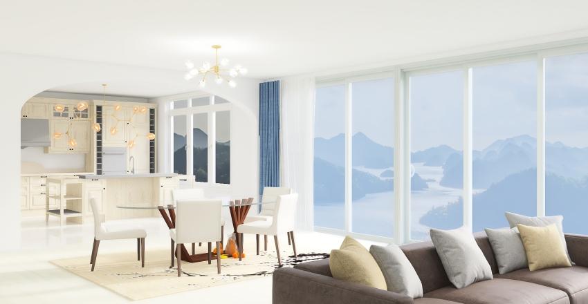 Shore house Interior Design Render