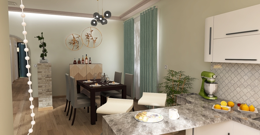 La Ermita ALICANTE Interior Design Render