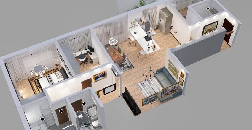 SANT'ANTONIO redux NUOVA IDEA Interior Design Render