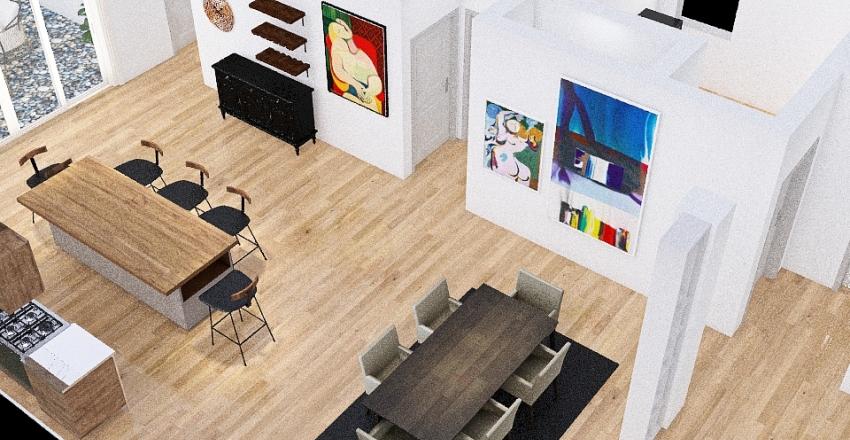 OPEN CONCEPT BEAM Interior Design Render