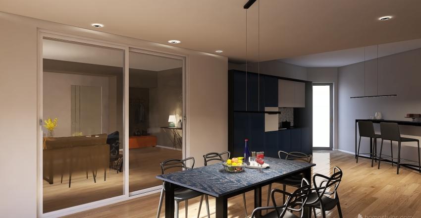 ristrutturazione appart. Interior Design Render
