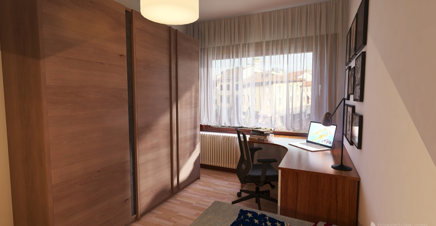 SANT'ANTONIO redux v3 bianch Interior Design Render