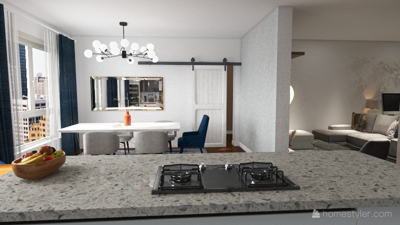 Numero 11 Interior Design Render