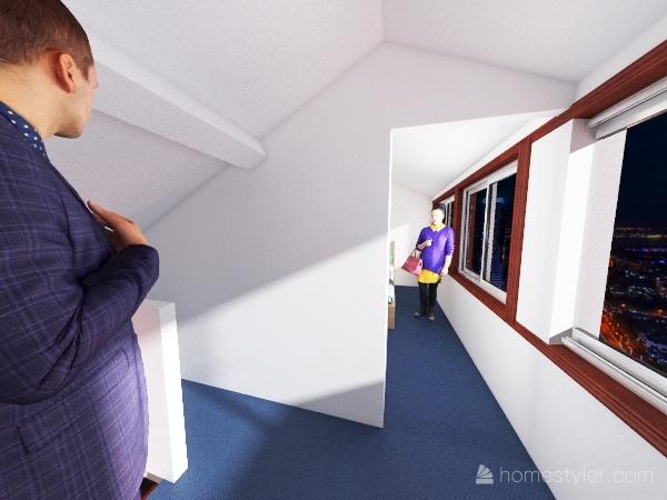 Zolderverbouwing Interior Design Render