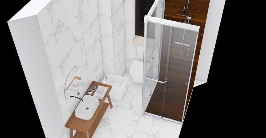 marble bathroom Interior Design Render