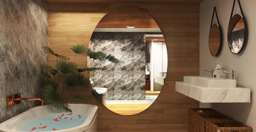 HABITACIÓN DE LUJO Interior Design Render