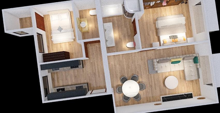 Monteléon 31 - Medidas reales Interior Design Render