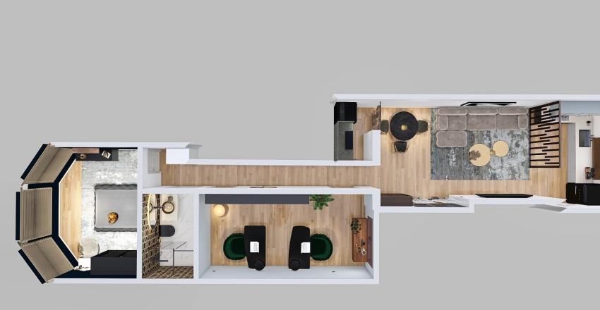 connaught road Interior Design Render