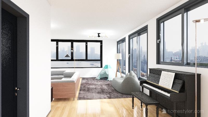 MERENDERO Interior Design Render