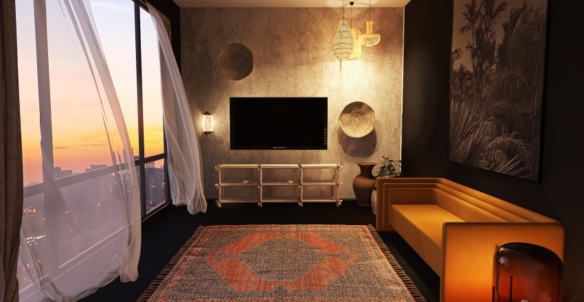 Desert in the City Interior Design Render