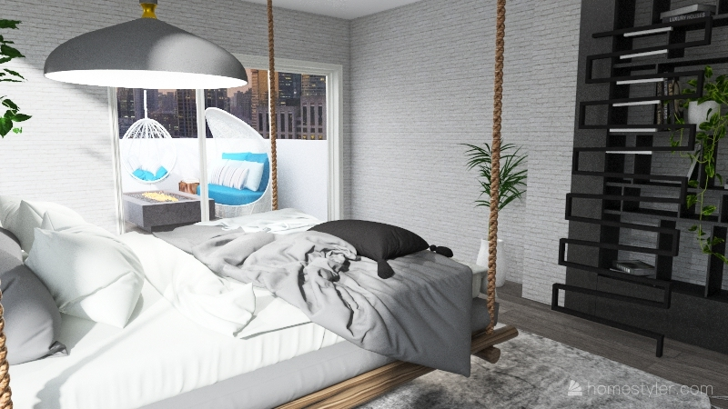 dream bedroom Interior Design Render