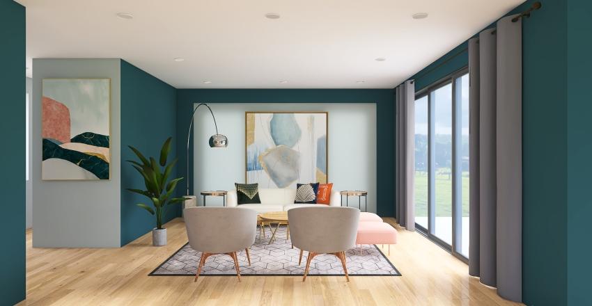 Espacio Sala - Historia del Mueble Interior Design Render