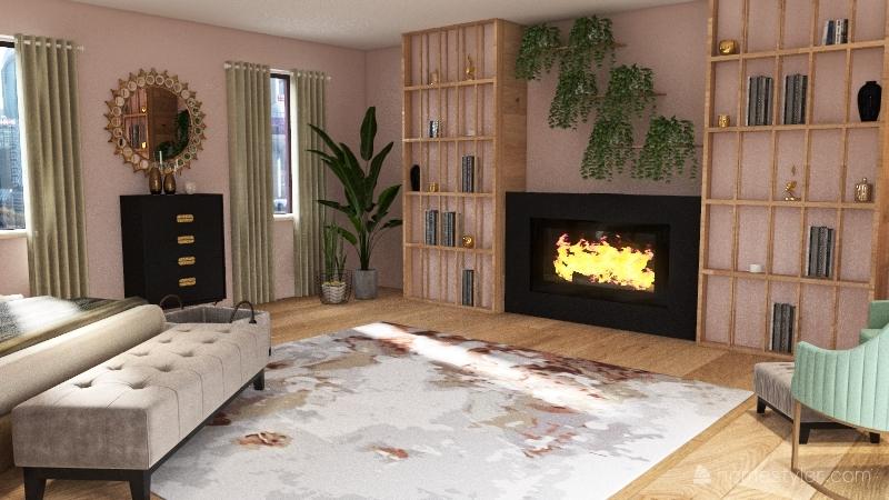 first bedroom design 18/12/20 Interior Design Render