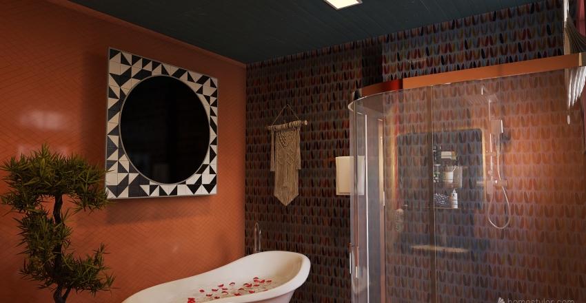 Projeto Palha Interior Design Render