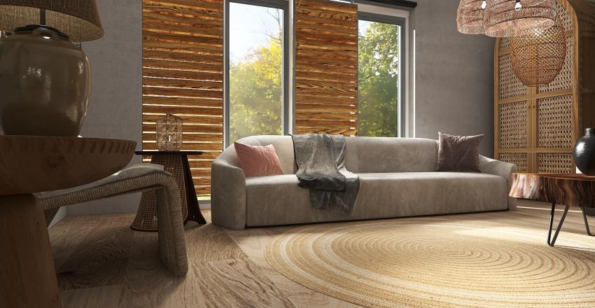 The Wabi Sabi way..... Interior Design Render