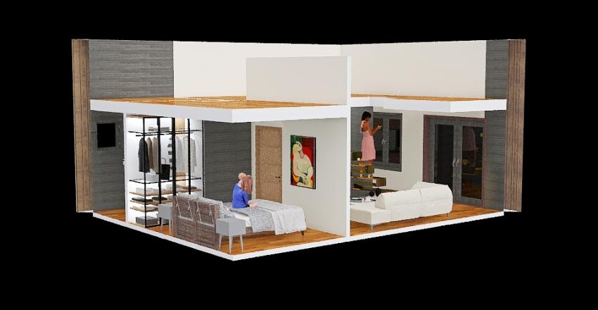 2 variantas SodasKarveliskes Interior Design Render