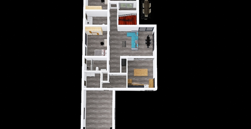 Copy of Proiect casa V11 Interior Design Render
