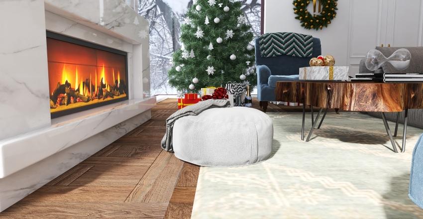 Modern Home in the Forest #HSDA2020Residential Interior Design Render