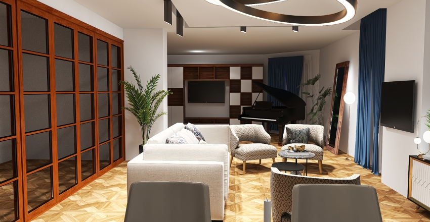ELENA BIA  APP2 Interior Design Render
