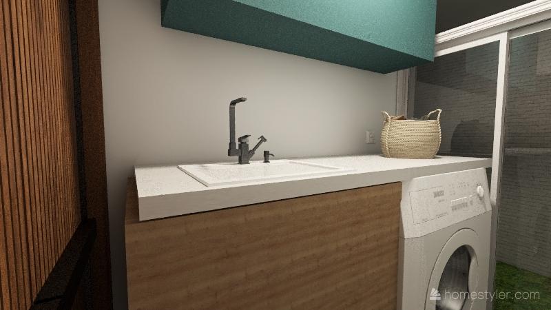 Casa Marcel e Gabi Interior Design Render