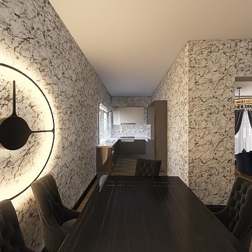 La playa  Interior Design Render