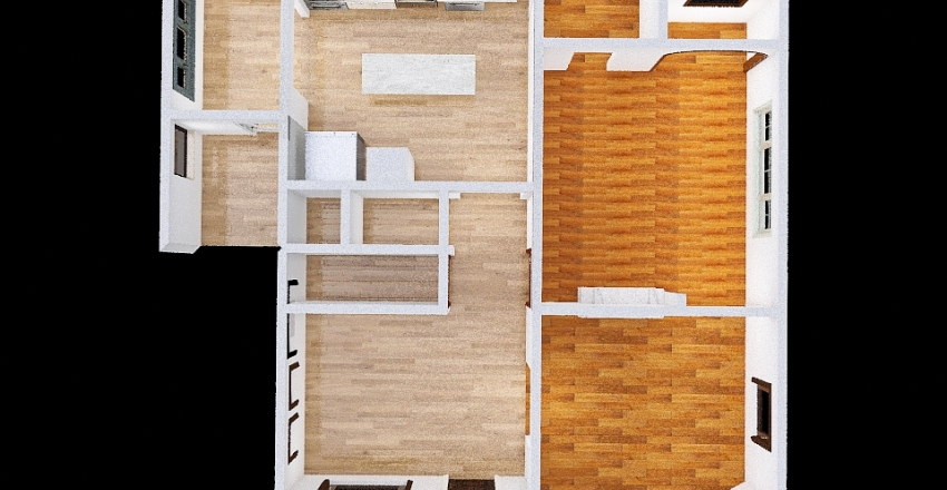 Current Floorplan Interior Design Render