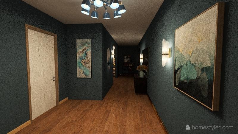 Modern_House Interior Design Render