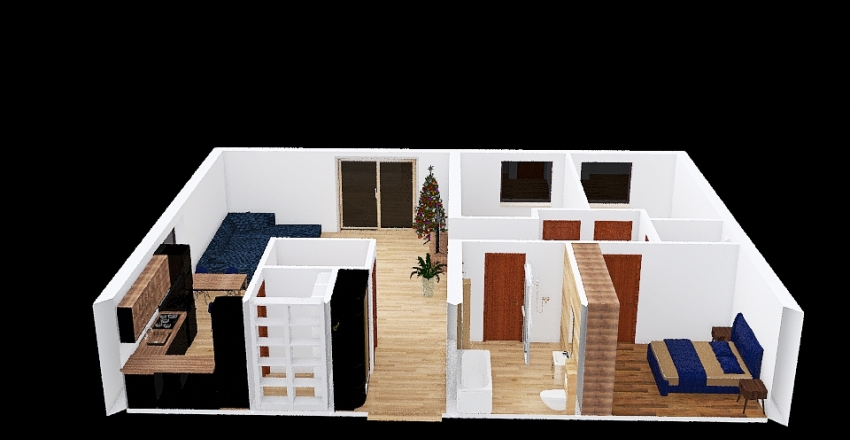 Only one place Interior Design Render