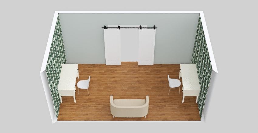 Office for 2 Interior Design Render