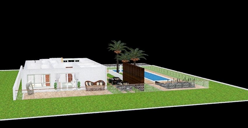 RANCHO SAGRADO Interior Design Render