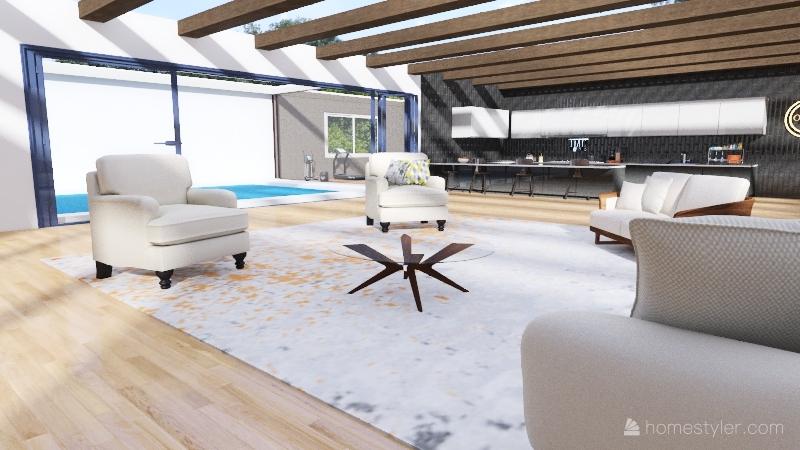 Classic Now Interior Design Render